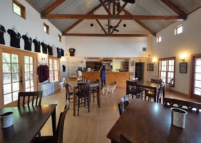 Woodrose Winery Tasting Room Interior